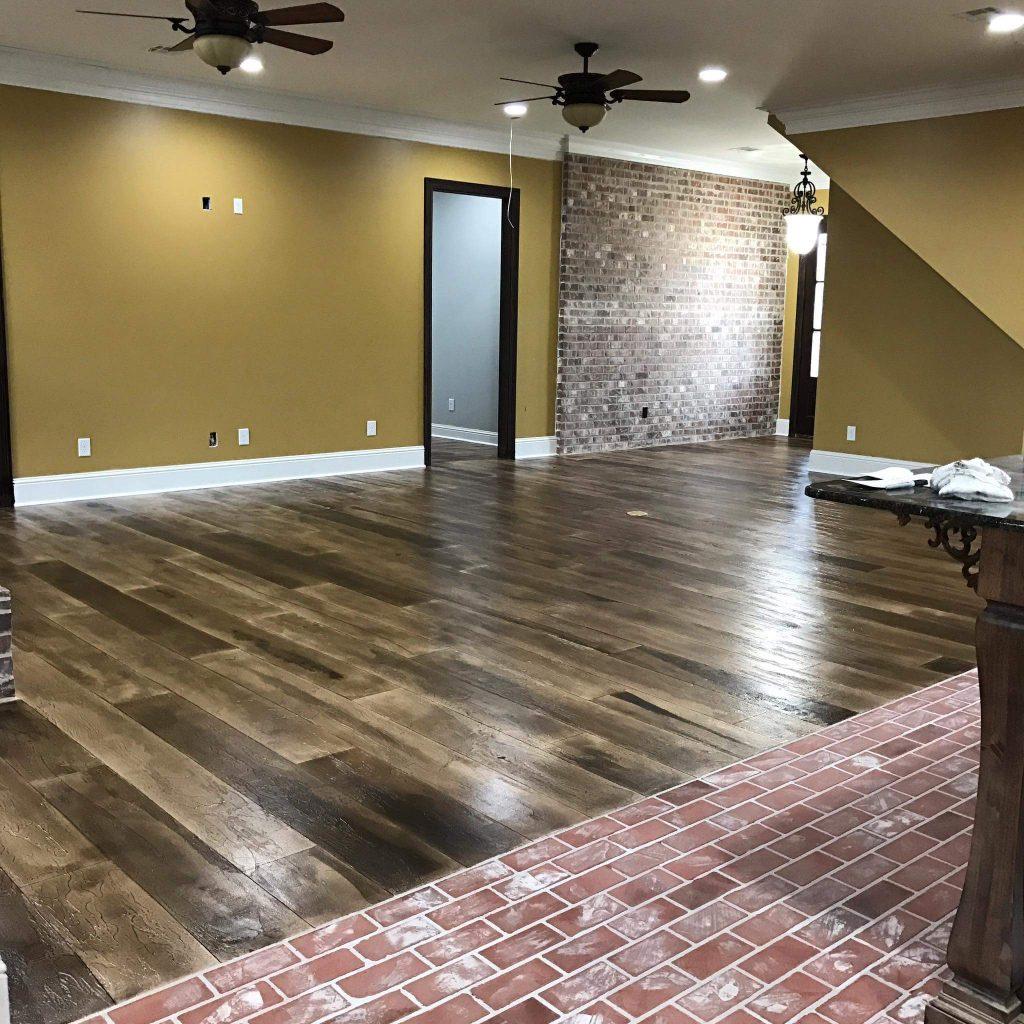 Rustic brick flooring augusta ga sexy floors usa for Georgia floor