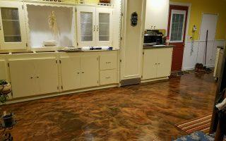 Metallic Marble Epoxy Flooring Augusta Ga Sexy Floors