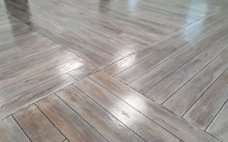 Wood Look Concrete Flooring Photos