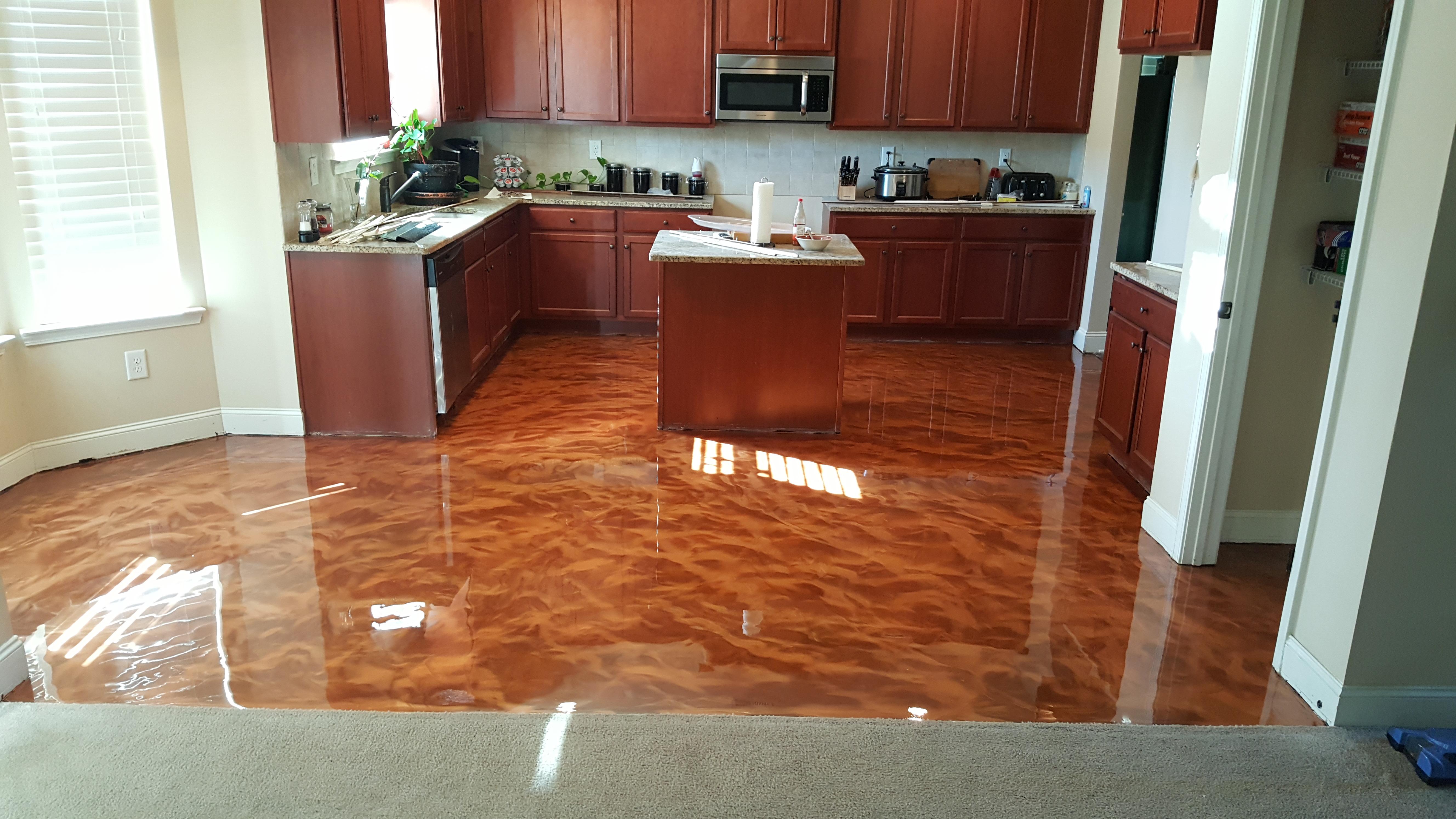 Metallic Marble Flooring Augusta GA